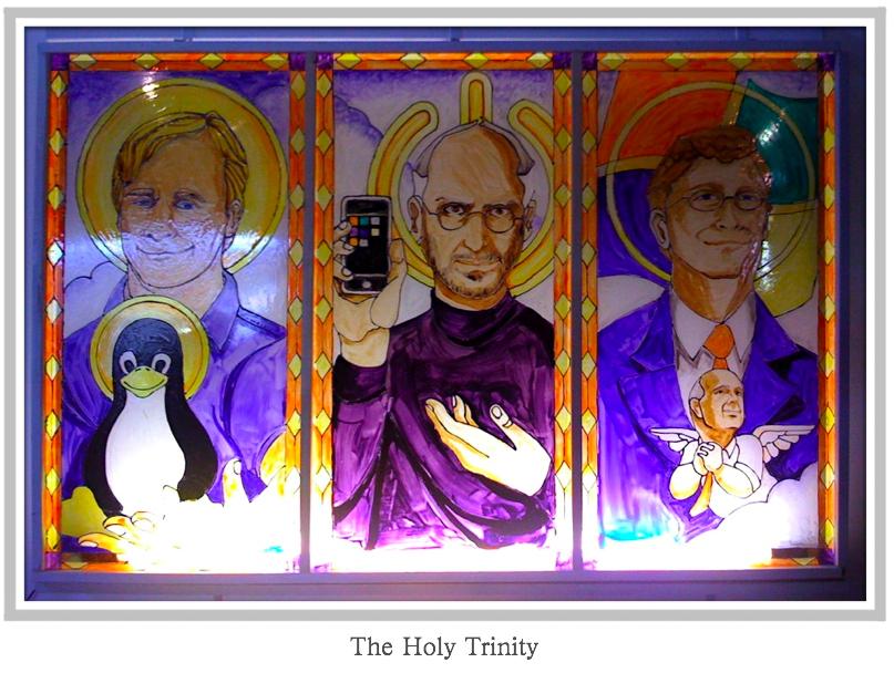 Svatá IT trojka (Holy Trinity) :+)