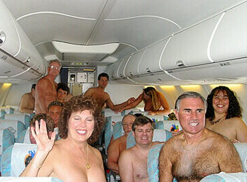 Nude Air Travel 45