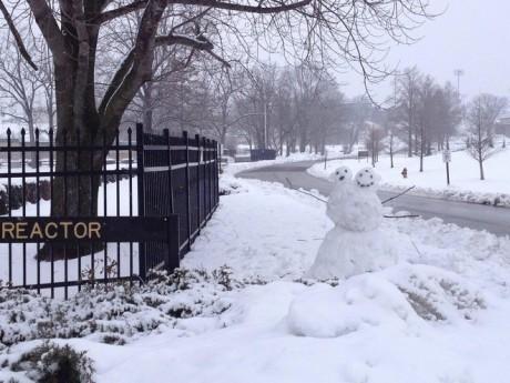 missouri snow man