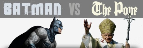 batman vs der papst head
