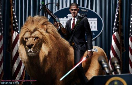 obama_riding_a_lion_by_sharpwriter