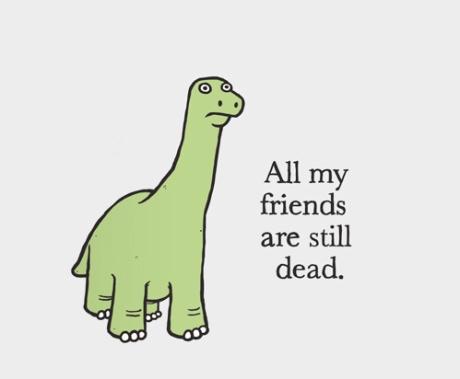dino dead friends