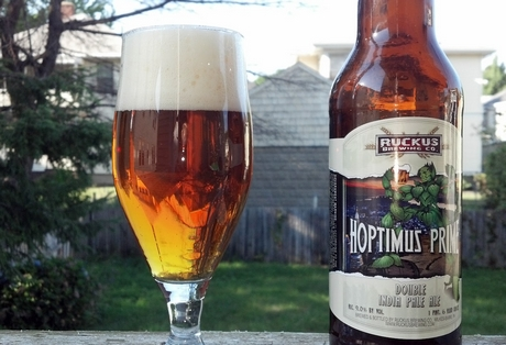 hoptimus prime beer