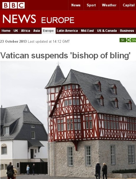 bishop of bling