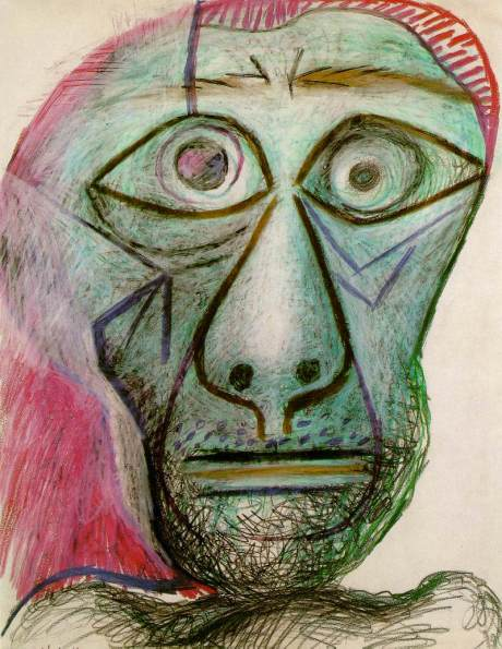 pablopicasso-self-portrait-1972