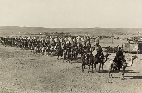The_camel_corps_at_Beersheba2